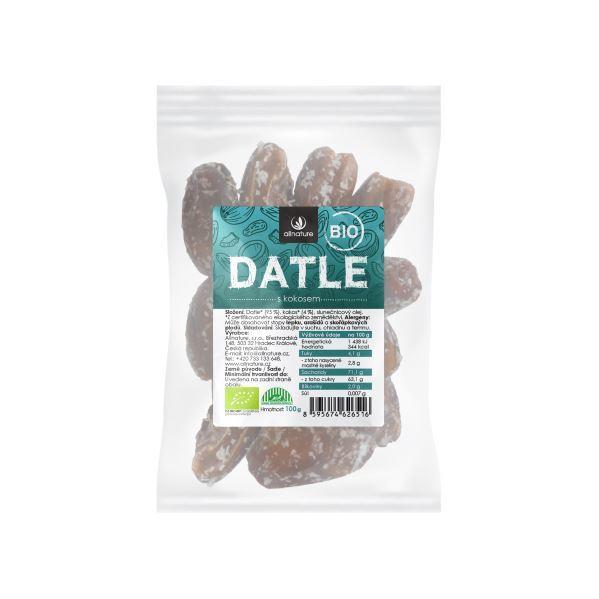 Zobrazit detail výrobku Allnature Datle s kokosem BIO 100 g