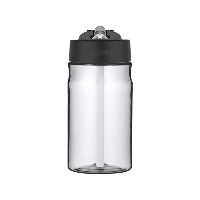 Thermos Dětská hydratační láhev s brčkem - čirá 350 ml