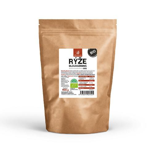 Zobrazit detail výrobku Allnature Dlouhozrnná rýže bílá BIO 400 g