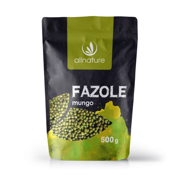 Zobrazit detail výrobku Allnature Fazole mungo 500 g