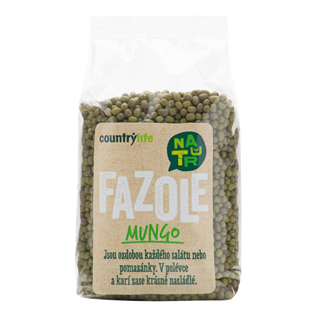 Zobrazit detail výrobku Country Life Fazole mungo 500g