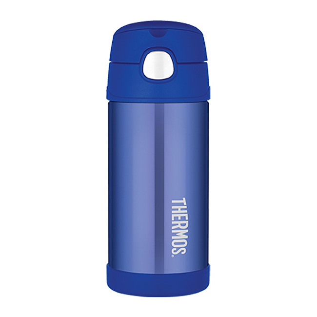Zobrazit detail výrobku Thermos FUNtainer Dětská termoska s brčkem - modrá 355 ml