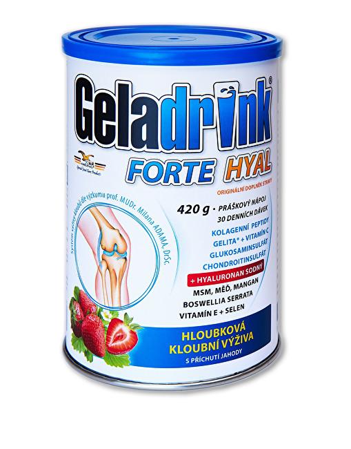 Zobrazit detail výrobku Orling Geladrink Forte HYAL 420 g příchuť jahoda