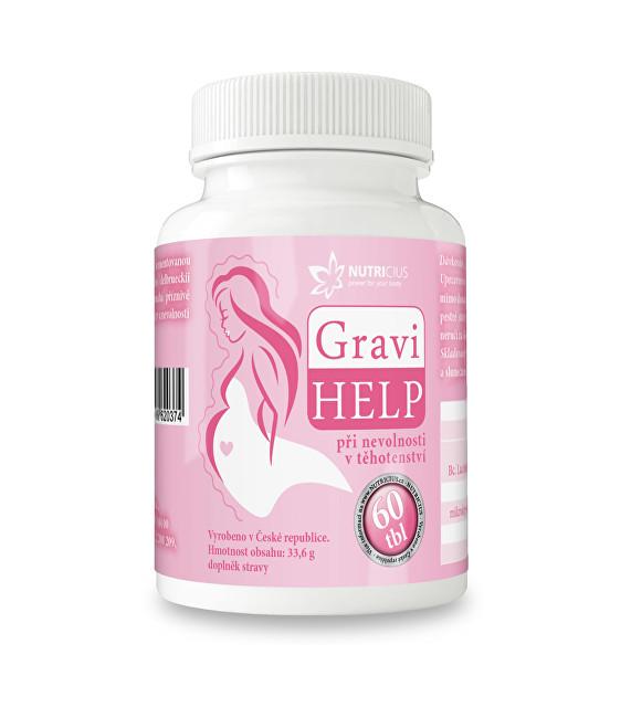 Zobrazit detail výrobku Nutricius GraviHELP - při nevolnosti v těhotenství 60 tbl.