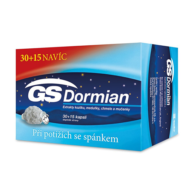 Zobrazit detail výrobku GreenSwan GS Dormian 30 + 15 kapslí