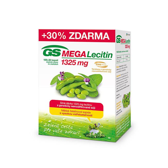GS Megalecitin 1325 mg 100 + 30 kapslí