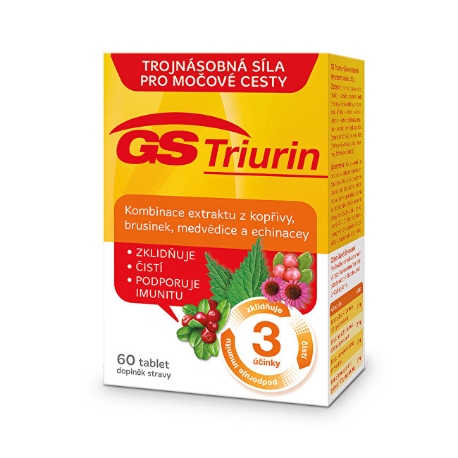 Zobrazit detail výrobku GreenSwan GS Triurin 60 tbl.