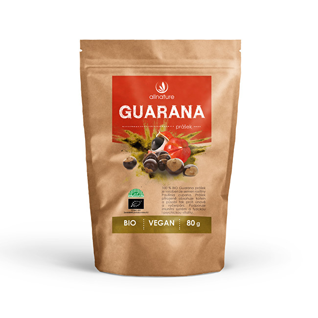 Zobrazit detail výrobku Allnature Guarana prášek BIO 80 g