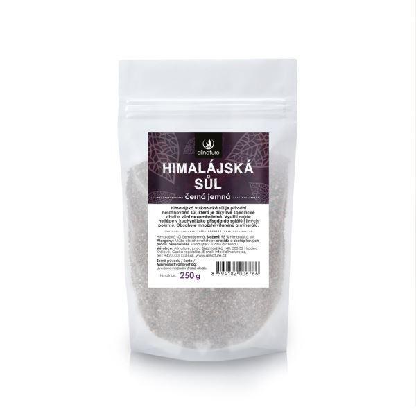 Zobrazit detail výrobku Allnature Himalájská sůl černá jemná 250 g