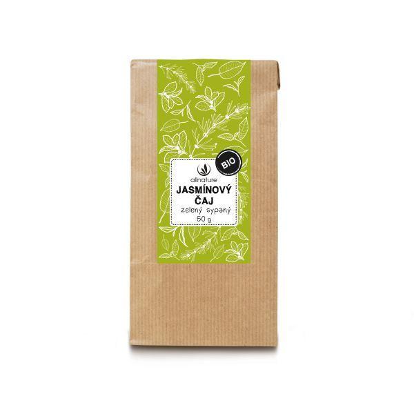 Zobrazit detail výrobku Allnature Jasmínový čaj zelený sypaný BIO 50 g