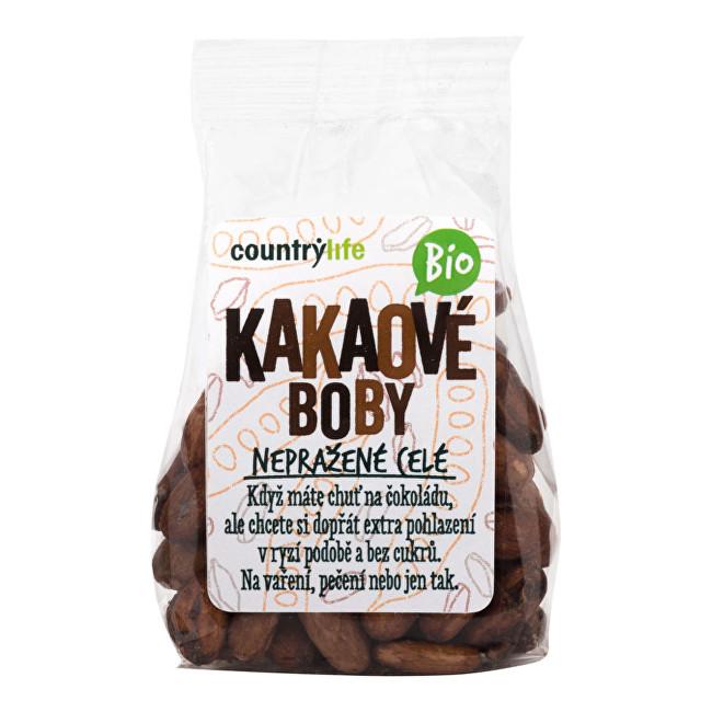 Zobrazit detail výrobku Country Life Kakaové boby nepražené celé BIO 100g