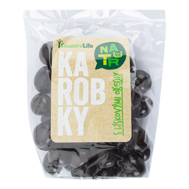 Zobrazit detail výrobku Country Life Karobky s lískovými ořechy 100 g