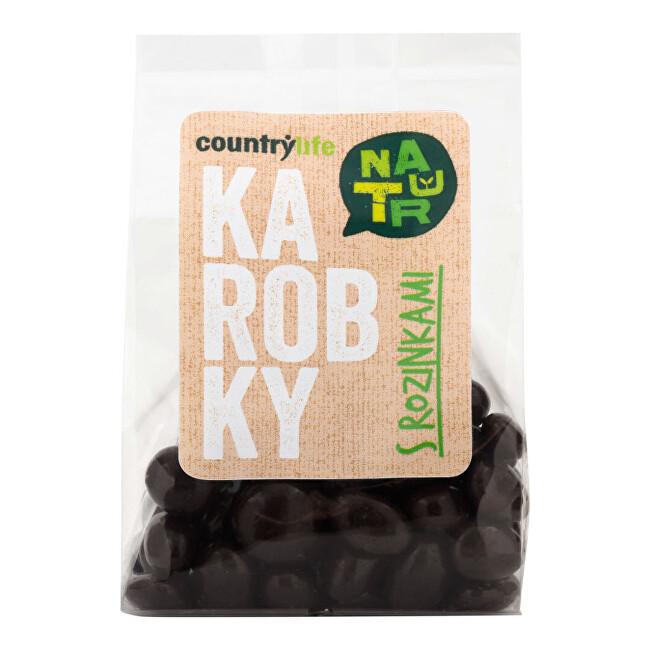 Zobrazit detail výrobku Country Life Karobky s rozinkami 100 g