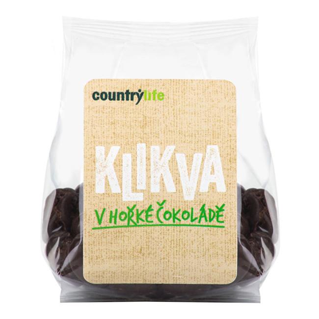 Zobrazit detail výrobku Country Life Klikva - kanadská brusinka v hořké čokoládě 100 g
