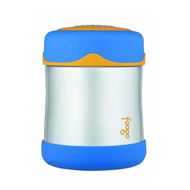 Thermos Kojenecká termoska na jídlo - modrá 290 ml 6f50c69b094