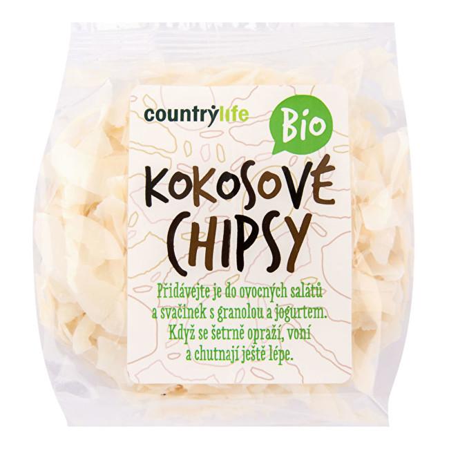 Country Life Kokosové chipsy BIO 150 g