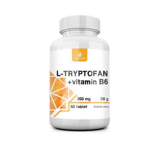 Zobrazit detail výrobku Allnature L-tryptofan + vitamín B6 60 tbl.