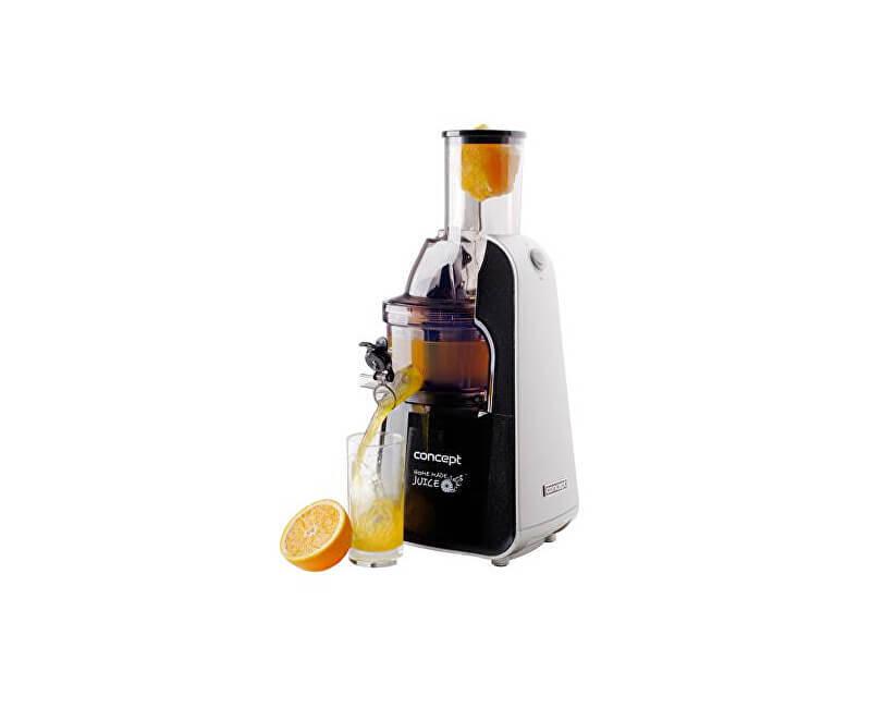 Concept Lis na ovocie a zeleninu Home Made Juice BLACK LO7067 - nerez + strieborná