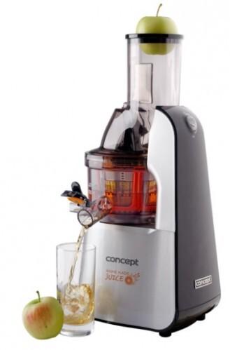 Concept Lis na ovoce a zeleninu Home Made Juice SINFONIA LO7065 - nerez + černá - SLEVA - POŠKOZENÁ KRABICE