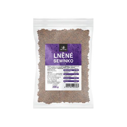 Zobrazit detail výrobku Allnature Lněné semínko hnědé 200 g
