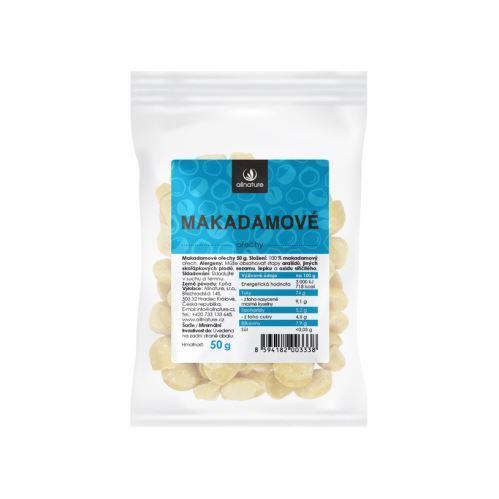 Makadamové ořechy 50 g