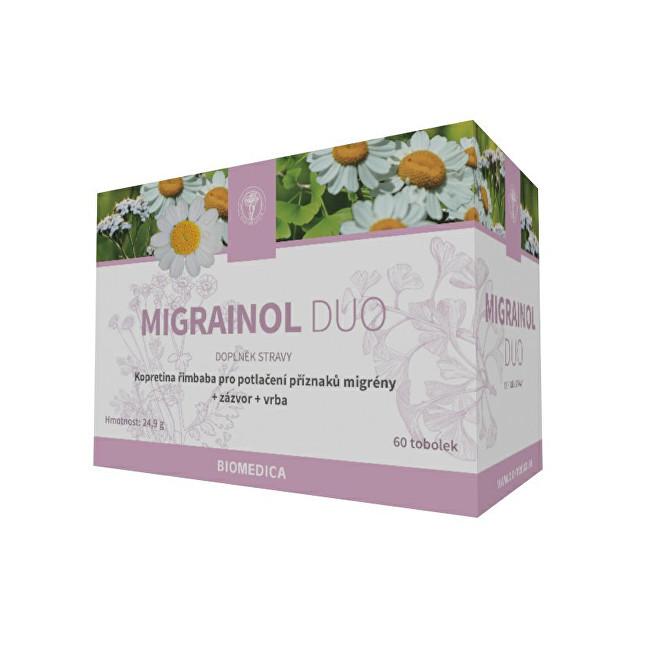 Zobrazit detail výrobku Biomedica Migrainol duo 60 tob.