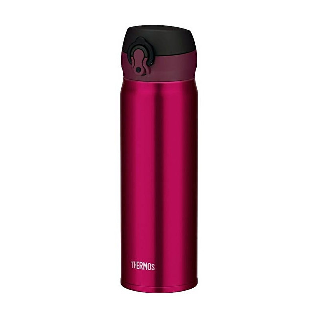 Thermos Motion Mobilní termohrnek - vínově červená (burgundy) 600 ml