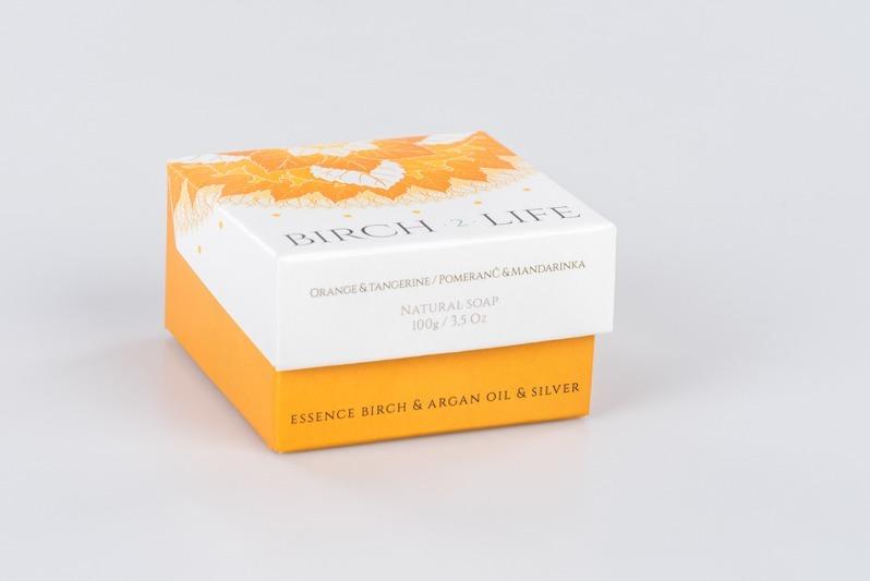 Birch 2 Life Mýdlo Pomeranč - Mandarinka