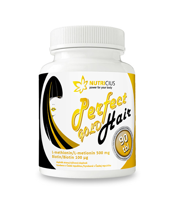 Nutricius Perfect HAIR gold 90 tbl.