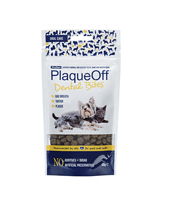 Zobrazit detail výrobku Proden PlaqueOff PRODEN PLAQUEOFF DENTAL BITES 60G