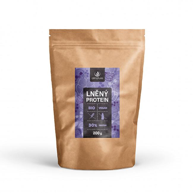 Allnature Protein lněné semínko 30% BIO 200 g