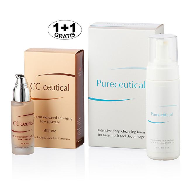 Zobrazit detail výrobku Herb Pharma Pureceutical - intenzivní hloubková čistící pěna 125 ml + CC ceutical krém proti vráskám jemně krycí 30 ml (1 + 1 zdarma)