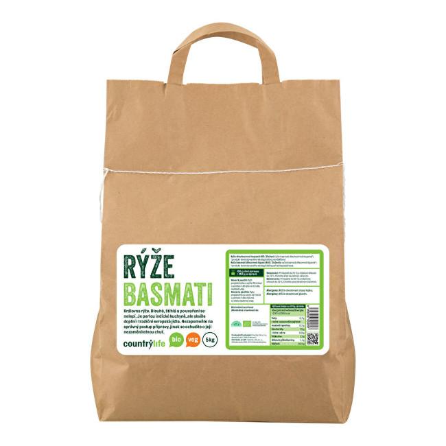 Zobrazit detail výrobku Country Life Rýže basmati BIO 5 kg