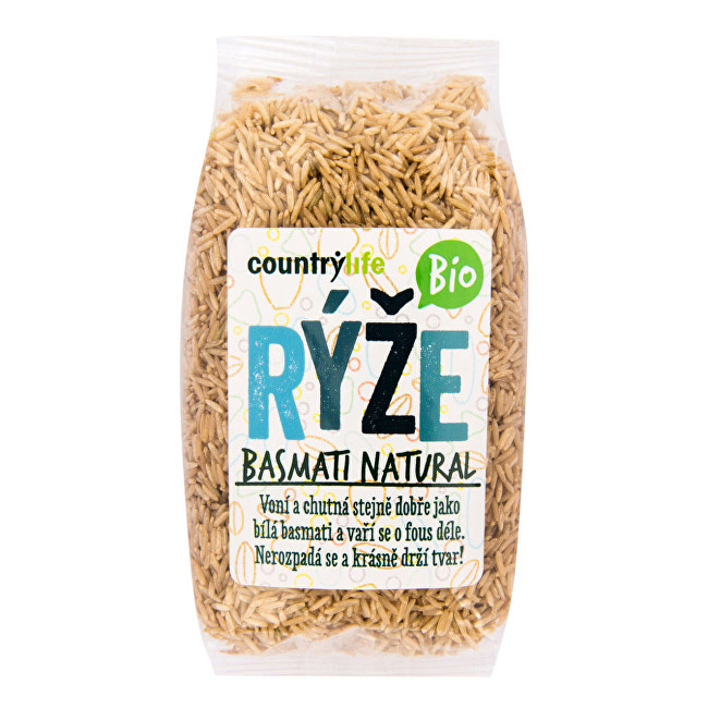 Country Life Ryža basmati natural BIO 0,5 kg
