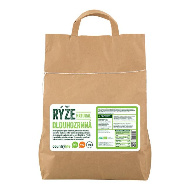 Zobrazit detail výrobku Country Life Rýže dlouhozrnná natural BIO 5 kg