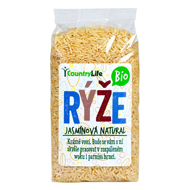 Country Life Ryža jazmínová natural BIO 0,5 kg