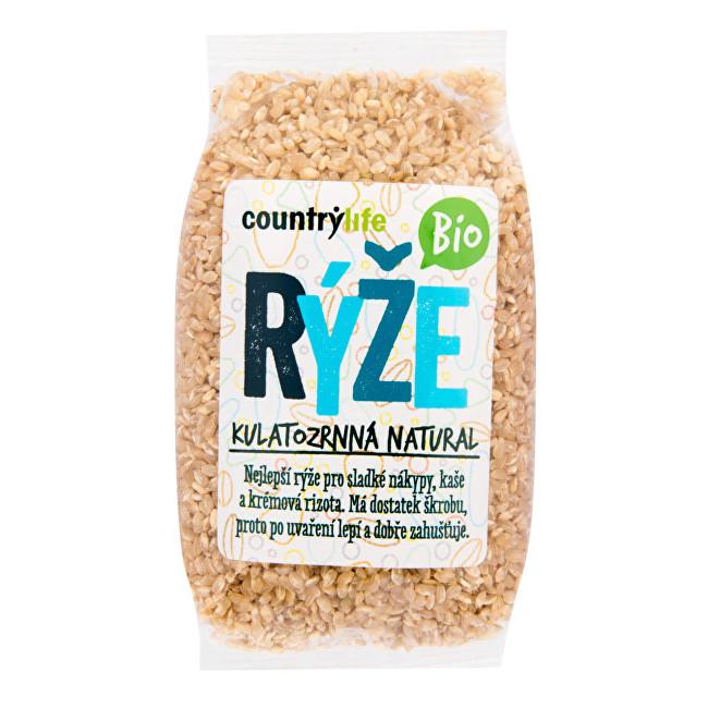 Zobrazit detail výrobku Country Life Rýže kulatozrnná natural BIO 0,5 kg