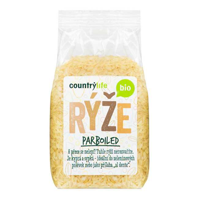 Country Life Ryža Parboiled BIO 0,5 kg
