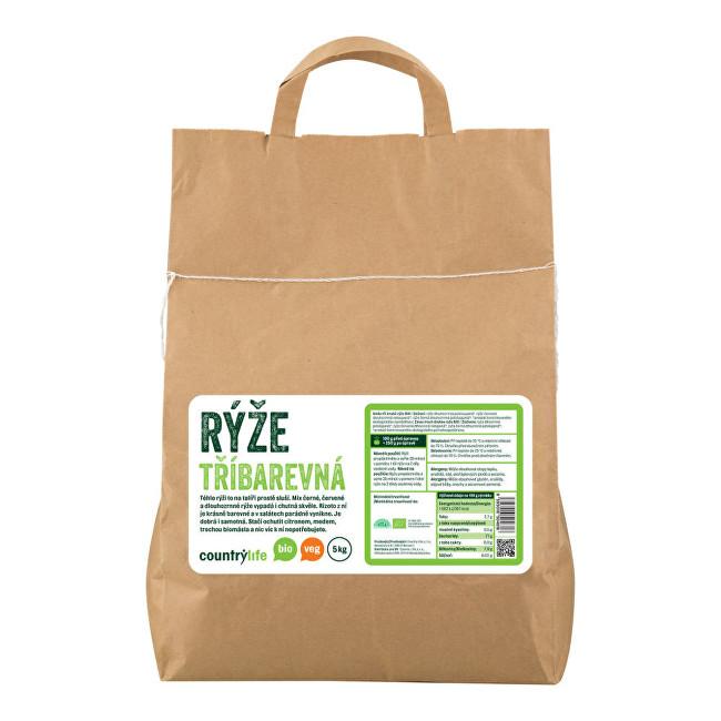 Zobrazit detail výrobku Country Life Rýže tříbarevná BIO 5 kg