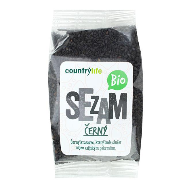 Zobrazit detail výrobku Country Life Sezam černý neloupaný BIO 100g