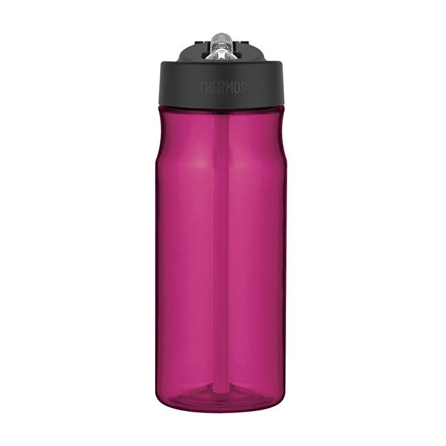 Sport Hydratační láhev s brčkem - purpurová 530 ml