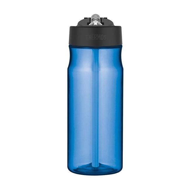Sport Hydratační láhev s brčkem - světle modrá 530 ml