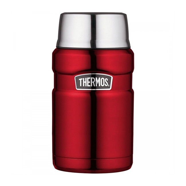 Zobrazit detail výrobku Thermos Style Termoska na jídlo se šálkem - červená 710 ml
