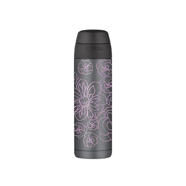 Thermos Style Termoska na nápoje s brčkem - ametyst 530 ml
