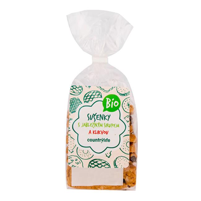 Zobrazit detail výrobku Country Life Sušenky s jablečným sirupem a klikvou BIO 175 g