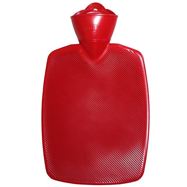 Hugo-Frosch Termofor Classic s vysokým drážkováním - červený, zvýšená tepelná izolace