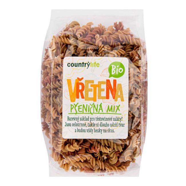 Zobrazit detail výrobku Country Life Těstoviny vřetena pšeničná mix BIO 400g