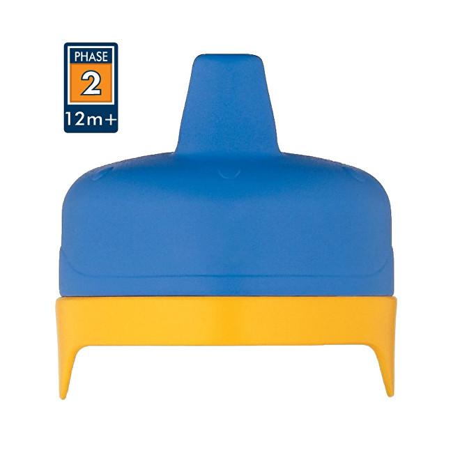 Tvrdé pítko pro kojeneckou termosku a láhev - modré