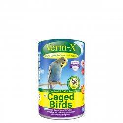 Zobrazit detail výrobku VERM-X VERM-X PŘÍRODNÍ PELETY PROTI STŘEVNÍM PARAZITŮM PRO PTÁKY 100G