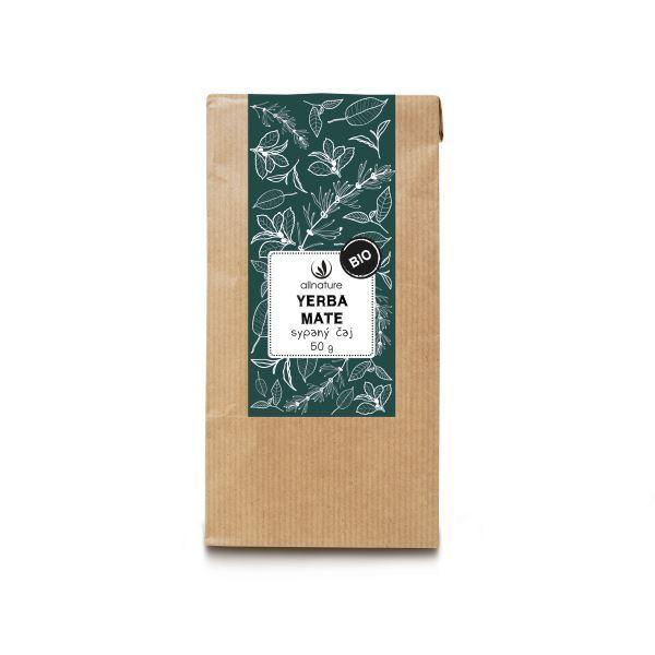 Zobrazit detail výrobku Allnature Yerba Mate sypaný čaj BIO 50 g